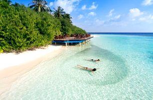 Maledivy - Kaafu Atol na 10 až 18 dní, plná penze s dopravou letecky z Prahy 30 m od pláže