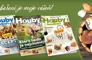 Časopis Houby & houbaři: kompletní ročník 2018