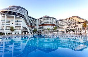 Turecko - Turecká Riviéra na 4 až 8 dní, all inclusive s dopravou letecky z Prahy přímo na pláži