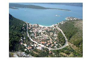 Chorvatsko - Jižní Dalmácie na 8 dní, bez stravy s dopravou vlastní 150 m od pláže