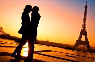 Valentýn v Paříži s ubytováním na 2 noci