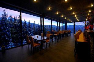 Jedinečný relax ve výšce 1100m v centru Jasné. 3* hotel s wellnessem přímo pod Chopkem