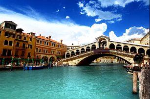 Navštivte Benátky - pobyt v elegantním 3* hotelu pro 2 osoby