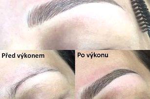 Vláskování obočí nebo permanentní make-up rtů v Praze