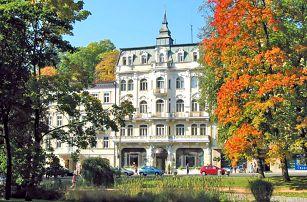 Okouzlující Mariánské Lázně v hotelu v centru a nedaleko Zpívající fontány s wellness a plnou penzí