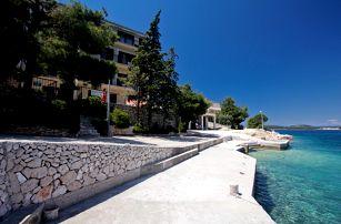 Chorvatsko - Severní Dalmácie na 8 dní, bez stravy s dopravou vlastní 10 m od pláže