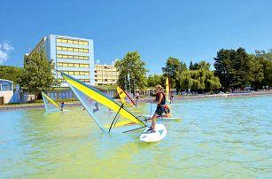 Maďarsko - Balaton na 6 až 11 dní, polopenze s dopravou vlastní přímo na pláži