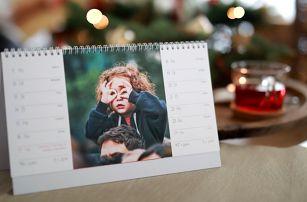 Velký stolní nebo nástěnný fotokalendář