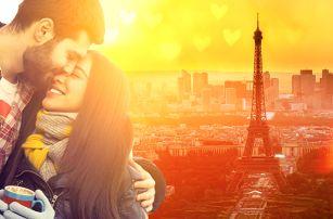 Valentýn v Paříži: ubytování na 1 noc se snídaní
