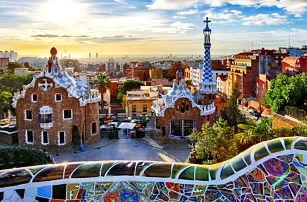 Jarní Barcelona: doprava a 2 noci s polopenzí