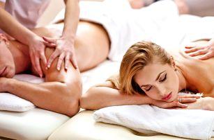 Párová masáž dle výběru v 4* hotelu