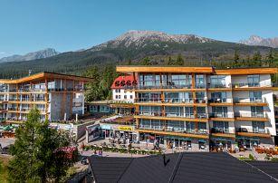 Dovolená v Tatrách ve zcela novém Hrebienok Resortu v Tatrách
