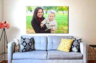 Fotoobraz s vlastní fotografií, velikosti až do 130×87