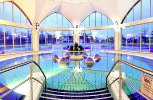Maďarský Sárvár v přepychovém 4* hotelu Park Inn s neomezeným vstupem do termálů + na výběr z polopenze a All inclusive