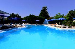 Řecko - Rhodos na 8 dní, all inclusive s dopravou letecky z Prahy 700 m od pláže