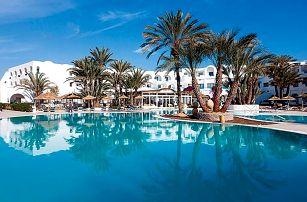 Tunisko - Djerba na 9 až 16 dní, all inclusive s dopravou letecky z Prahy přímo na pláži