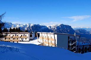 8denní Monte Bondone | Hotel Le Blanc**** 200 m od sjezdovky | 2 Děti do 7 let zdarma | Vlastní doprava, ubytování, polopenze