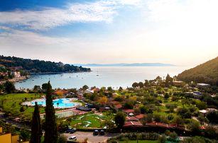 8–10denní Chorvatsko, Istrie, Rabac | Kemp Oliva*** – mobilhome | Dítě zdarma | Polopenze | Možnost dopravy