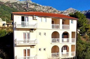 8–10denní Chorvatsko, Gradac | Apartmány Villa Tina*** 300 m od pláže | Výhled na moře | Bez stravy, autobusem nebo vlastní doprava