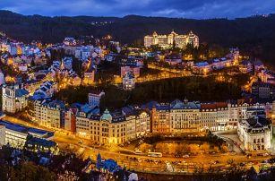 Spa Hotel Panorama v Karlových Varech s procedurami a polopenzí