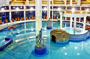 Hotel s vlastním pramenem: wellness i polopenze