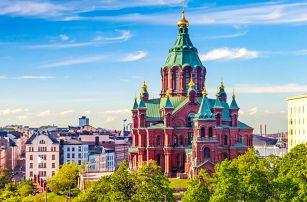 Hlavní města Pobaltí a Helsinky   2 noci se snídaní   5denní poznávací zájezd do Pobaltí a Finska