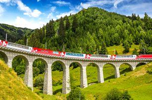 Cesta jedinečným alpským vlakem: jaro 2019