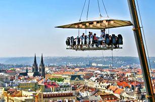 Nevšední kulinářský zážitek 50 metrů nad zemí