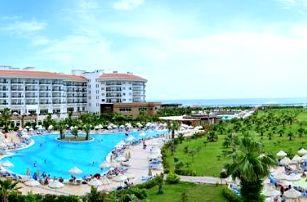 Turecko - Side na 4 až 8 dní, all inclusive s dopravou letecky z Prahy přímo na pláži