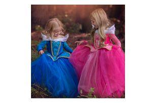 Dětské šaty pro pravou princeznu Popelka