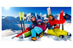 Rakouské Alpy: celoroční lyžování a sauna