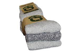 Ponožky z kvalitní ovčí vlny 3 ks