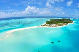 Maledivy - Atol Ari na 10 až 15 dní, plná penze nebo polopenze s dopravou letecky z Prahy přímo na pláži