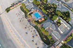 Spojené arabské emiráty - Umm Al Quwain na 4 až 5 dní, polopenze nebo snídaně s dopravou letecky z Prahy přímo na pláži