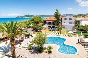 Řecko - Zakynthos na 15 dní, all inclusive s dopravou letecky z Prahy přímo na pláži