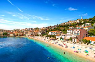 8–10denní Chorvatsko, Igrane | Apartmány Ankora*** 100 m od pláže | Doprava -50% | Parkování zdarma | Strava vlastní | Autobusem nebo vlastní doprava