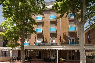 8–10denní Itálie, Emilia Romagna   Hotel Manola*** 80 m od pláže   Dítě zdarma   Polopenze nebo plná penze   Autobusem nebo vlastní doprava