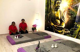 90–120minutová thajská masáž v salonu Thai Diamond v Brně