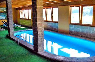 Šumava s rodinou v penzionu s privátním saunováním, bazénem neomezeně a polopenzí + až 2 děti do 12,9 zdarma