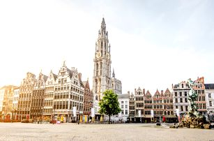 Velikonoce v Belgii: autobus a 1 noc se snídaní