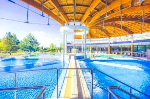 Bük v penzionu Patrícia s polopenzí, bazénem a vstupenkami do lázní