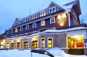 Harrachov v 3* hotelu s neomezeným wellness ve stylu římských lázní + polopenze