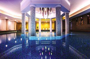 Slavné lázně Bük v luxusním 4* hotelu s polopenzí a neomezeným vstupem do wellness, saunového světa a fitness