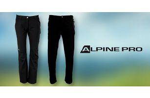 Pánské i dámské softshellové kalhoty Alpine Pro