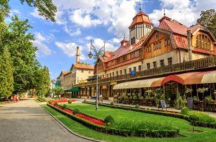Polsko - na 3 dny, polopenze s dopravou vlastní