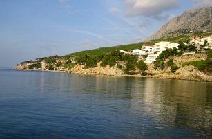 Chorvatsko - Omiš na 10 dní, bez stravy s dopravou autobusem