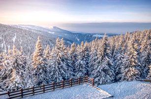Jeseníky s polopenzí, procedurami či Ski pasem
