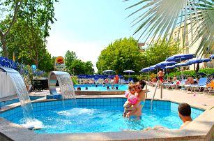 8–10denní Itálie, Emilia Romagna   Hotel Senior*** 250 m od pláže   Dítě zdarma   Bazén   Polopenze   Autobusem nebo vlastní doprava