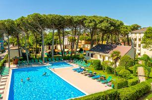8–10denní Itálie, Caorle | Depandance hotelu Marina*** 250 m od pláže | Doprava -50% | 2 Děti zdarma | Bazén | All inclusive | Autobusem nebo vlastní doprava