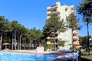 8–10denní Itálie, Bibione | Residence Castello**** | Bazén, Klimatizace, parkování zdarma | Strava vlastní | Autobusem nebo vlastní doprava